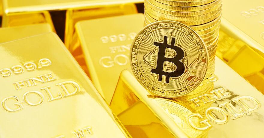 金,ビットコイン