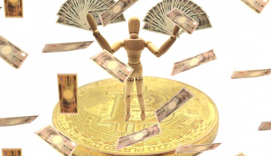ビットコイン,億り人