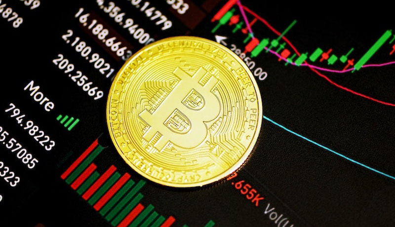 仮想通貨,伸びる